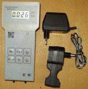 Фото ИГМ-014 портативный оптический газоанализатор на углекислый газ (СО2)