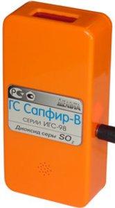 Фото Сапфир-В переносной газоанализатор диоксида серы SO2