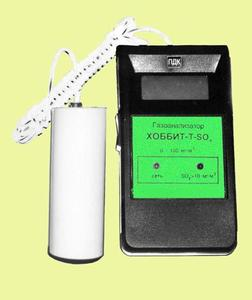 Фото Хоббит-T-SO2 газоанализатор переносной