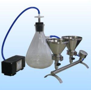 Фото ПВФ-35/4НБ прибор вакуумного фильтрования (4 воронки, вакуумный насос)