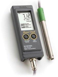 Фото HI 991003N рН-метр/термометр/ОВП/милливольтметр портативный (pH/ORP/T)