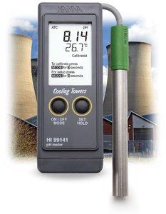 Фото HI 99141N ph-метр/термометр для котлов и систем охлаждения (pH/T)