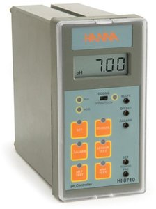 Фото HI 8710 ph-метр контроллер с термокомпенсацией