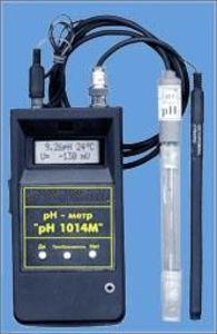 Фото pH-1014 (ж) рН-метр/термометр/милливольтметр микропроцессорный портативный для жидкостей