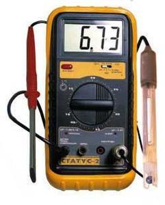 Фото Статус-2 пищевой рН-метр для измерения кислотности-щелочности в продуктах питания