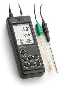 Фото HI 9124N рН-метр/термометр портативный влагонепроницаемый (pH/T)