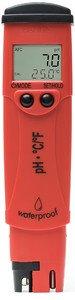 Фото HI 98127 pHep 4 рН-метр/термометр карманный влагонепроницаемый (pH/T)