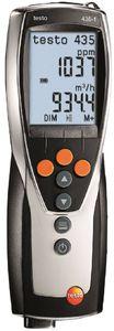 Фото Testo 435-1 (0560 4351) прибор для оценки качества воздуха в помещениях и окружающей среде (CO2, температура, влажность, скорость ветра)