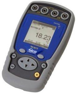 Фото AOIP TM6612R портативный измеритель температуры