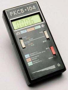 Фото РКСБ-104 радиометр-дозиметр