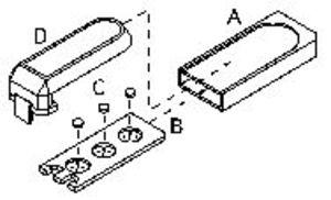 Фото ДТЛ-02 дозиметр термолюминесцентный (кассета + 2 детектора ДТГ-4)