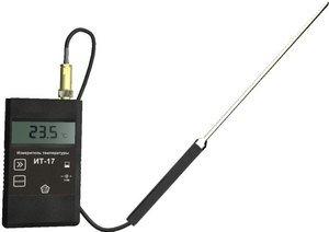 Фото ИТ-17 К портативный термометр с ЖК дисплеем