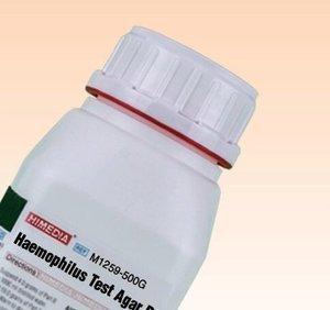Фото HiMedia M1259-500G Основа среды для определения чувствительности H.influenzae (уп/500 гр)