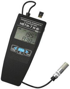 Фото ИВТМ-7 М 6 термогигрометр портативный c картой памяти