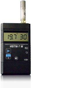 Фото ИВТМ-7 М 6-Д портативный термогигрометр c индикацией атмосферного давления (SD-карта, USB интерфейс)