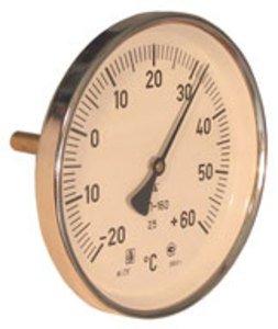 Фото ТБП-40/Т(0-200) термометр биметаллический торцевой стрелочный для асфальтобетона