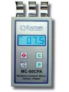 Фото Exotek MC-60CPA влагомер бумаги и картона бесконтактный (накладной вариант)