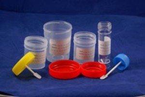 Фото Контейнер для кала с лопаточкой, стерильный, индивидульная упаковка (ЦЕНТРИФУЖНАЯ ПРОБИРКА/30мл/уп/500шт)