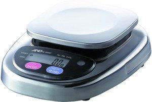Фото AND HL-1000WP порционные влагозащищённые весы (1000г/0.5г)