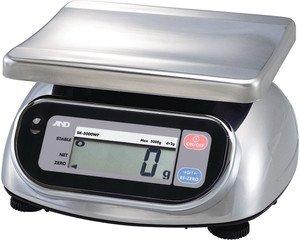 Фото AND SK-5000WP порционные влагозащищённые весы (5кг/2г)