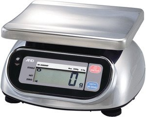 Фото AND SK-10КWP порционные влагозащищённые весы (10кг/5г)