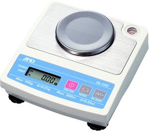 Фото AND HL-100 порционные весы (100г/0.01г)