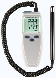 Фото Ива-6А-КП термогигрометр с регистрацией измеренных значений, без канала измерения атмосферного давления