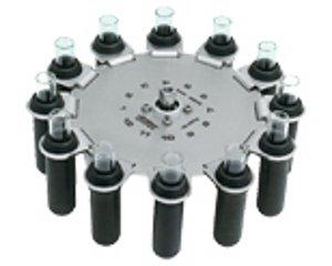 Фото HETTICH ротор с подвесными стаканами 2226 для Mikro 220R (12 мест, угол 60)