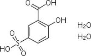 Фото Acros 424511000-100 GR 5-сульфосалициловая кислота, дигидрат, реагент ACS (уп/100гр)