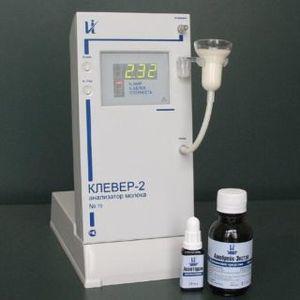 Фото КЛЕВЕР-2 ультразвуковой анализатор для измерения массовых долей жира и СОМО
