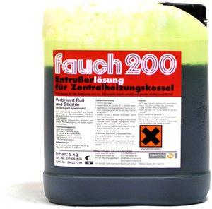Фото Fauch 200 раствор для удаления сажи с котлов центрального отопления, работающих на газовом и жидком горючем (канистра/5кг)