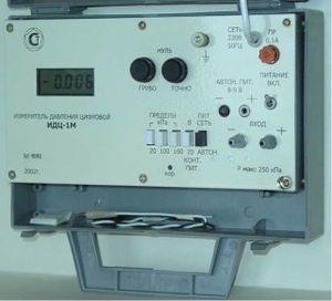 Фото ИДЦ-1М измеритель давления сжатого воздуха