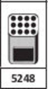 Фото HETTICH 5248 LS-рамка для пробирок (12х7.5-15мл)