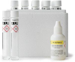 Фото HI 93764A-25 набор тестов на аммоний низкой концетрации (25 тестов)