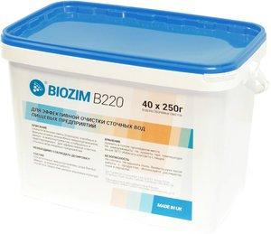 Фото BIOZIM B220 биопрепарат для использования в биологической очистке сточных вод в пищевой промышленности (ведро/10кг)