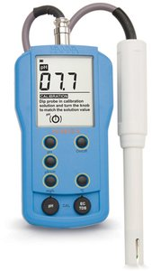 Фото HI 9812-5N pH-метр/кондуктометр/термометр портативный водонепроницаемый (pH/EC/TDS/T)