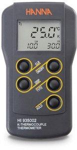Фото HI 935002 термометр портативный 2-х диапазонный водонепроницаемый (без датчиков)