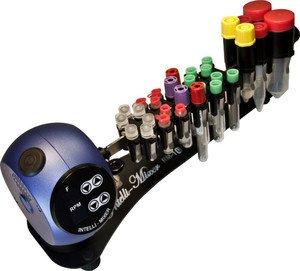 Фото ELMI Rotamix RM-1 встряхиватель (в комплекте Rack-держатель комбинированный на 4 вида пробирок диаметром 11/13/16/30 мм)