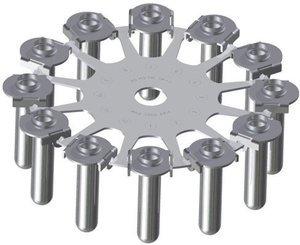 Фото ELMI ротор 6M.05 (12x15) к центрифуге CM-6M, CM-6MT (без адаптеров)
