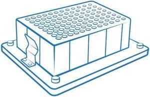 Фото BioSan B-2P блок для одного глубоколуночного планшета Porvair® 96/2000 мкл