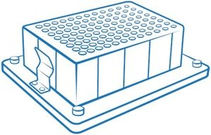 Фото BioSan B-06A блок для одного глубоколуночного планшета Corning Axygen® 96/600 мкл