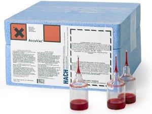 Фото HACH 25060-25 тест-набор на фторид (0.02-2 мг/л, 25 тестов)