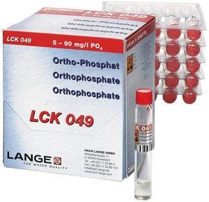 Фото HACH LCK049 Кюветный тест для ортофосфата (25 тестов)