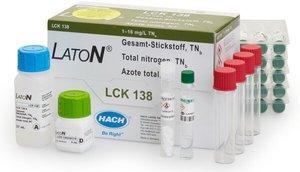 Фото HACH LCK138 Кюветный тест для общего азота (25 тестов)