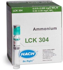 Фото HACH LCK304 Кюветный тест для аммония (25 тестов)