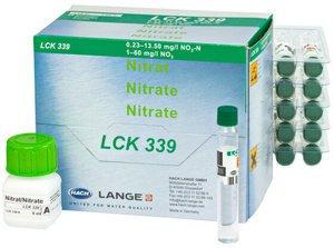Фото HACH LCK339 Кюветный тест для нитрата (25 тестов)