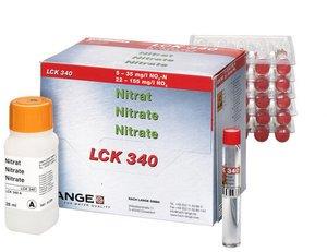 Фото HACH LCK340 Кюветный тест для нитрата (25 тестов)