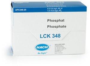 Фото HACH LCK348 Кюветный тест для общего и ортофосфата (25 тестов)