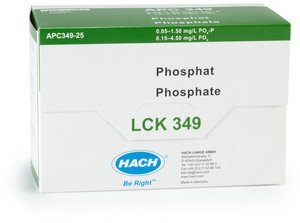 Фото HACH LCK349 Кюветный тест для общего и ортофосфата (25 тестов)