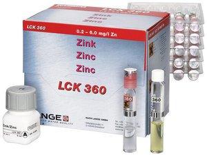 Фото HACH LCK360 Кюветный тест для цинка (24 теста)